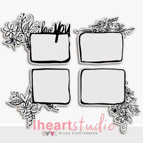 iHeartStudio_Floral_Frames1