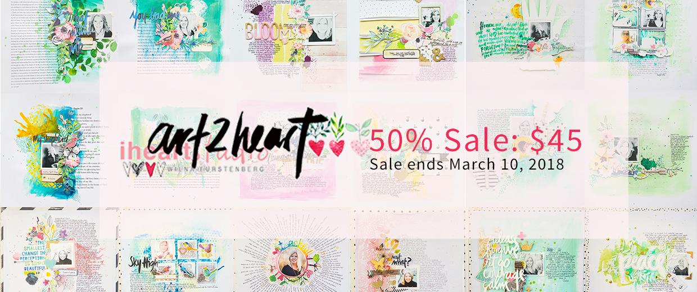 Art2Heart Workshop Sale